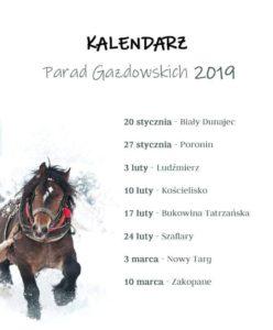 Kalendarz Porad Gazdowskich 2019
